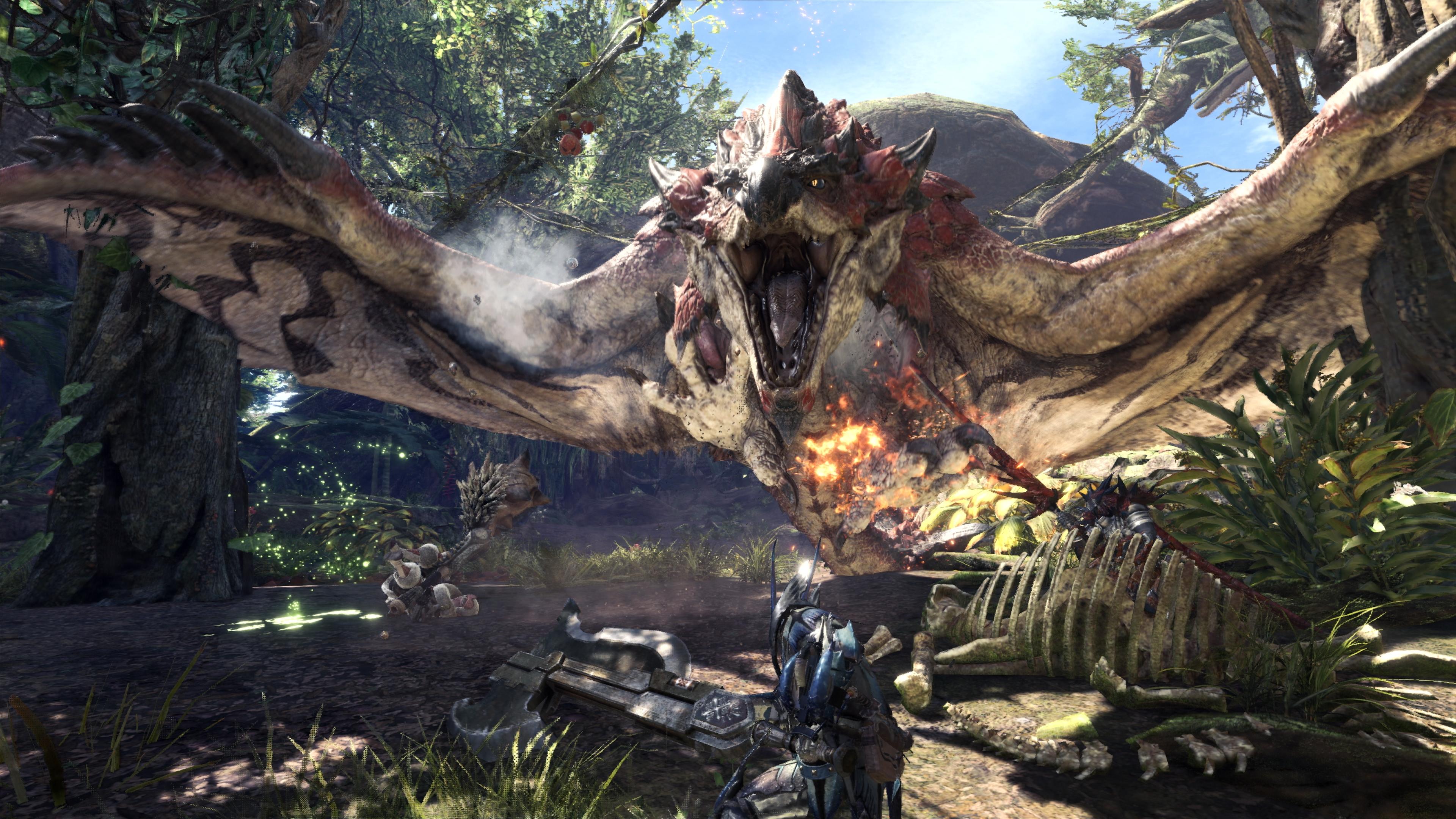 Monster Hunter: World ve dvou nových trailerech a sadě screenshotů 148559