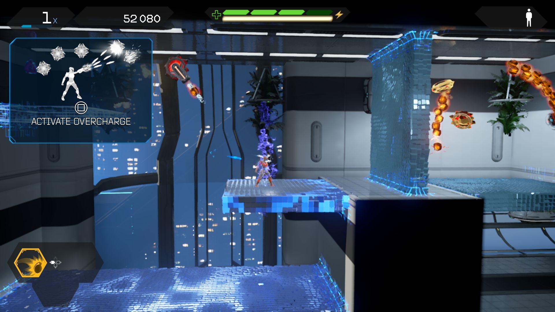 Matterfall - arkádová laser show 148665