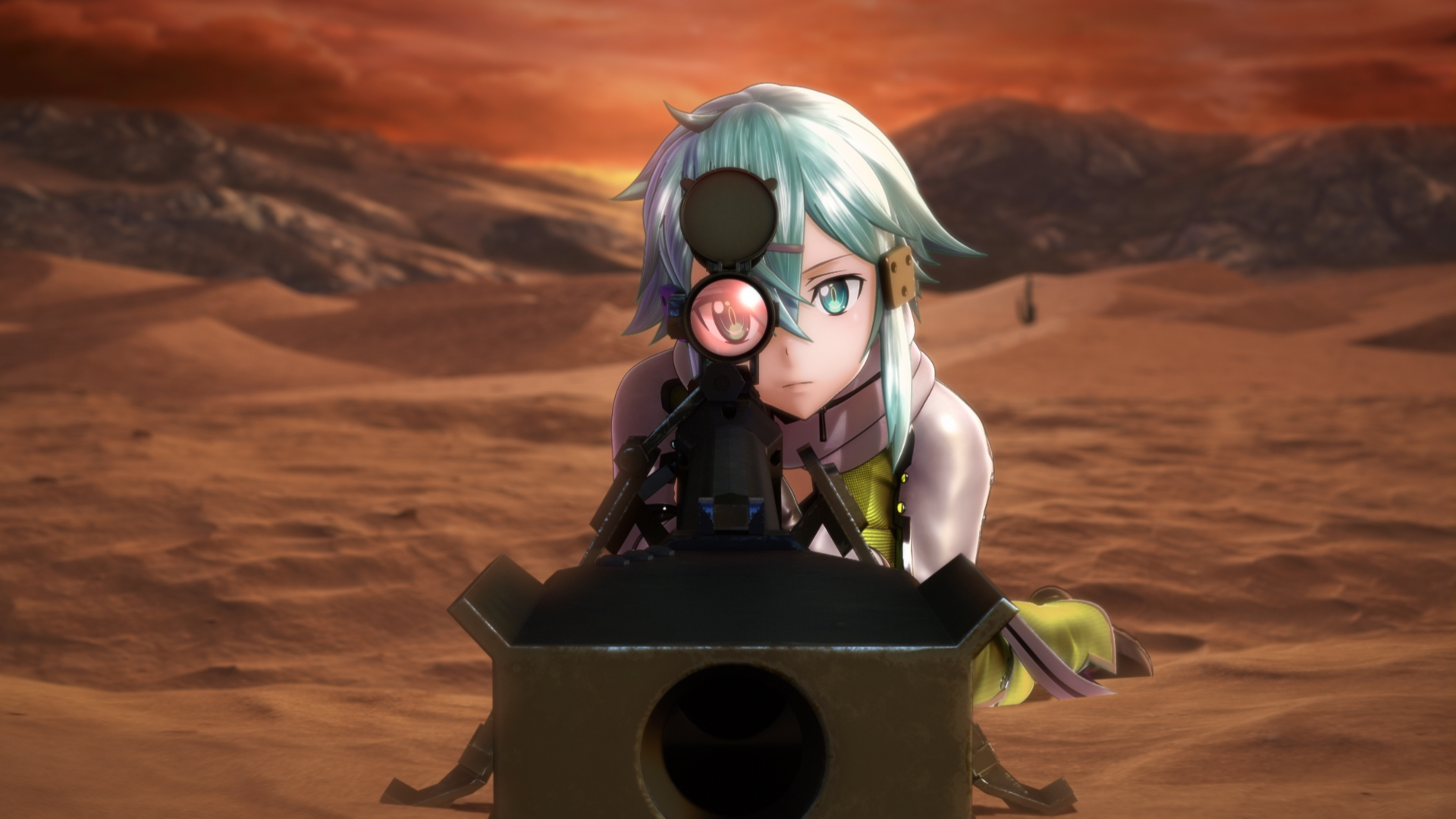 Oznámen Sword Art Online: Fatal Bullet pro PS4, Xbox One a PC 148786
