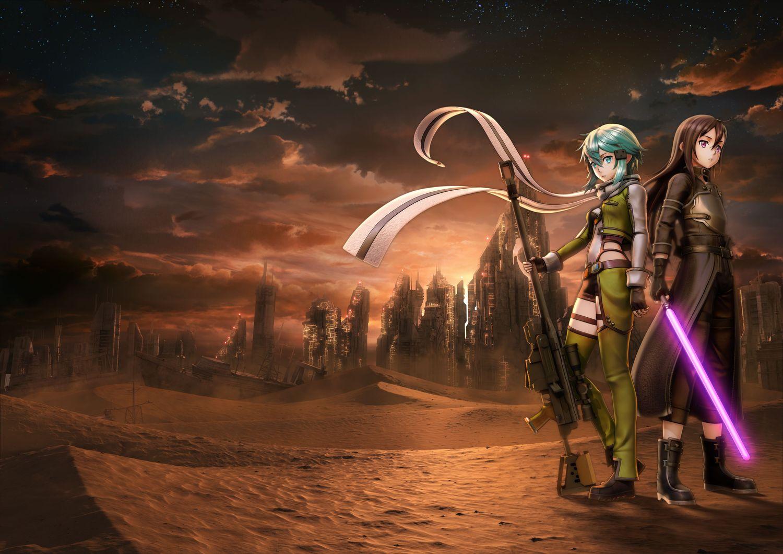Oznámen Sword Art Online: Fatal Bullet pro PS4, Xbox One a PC 148789