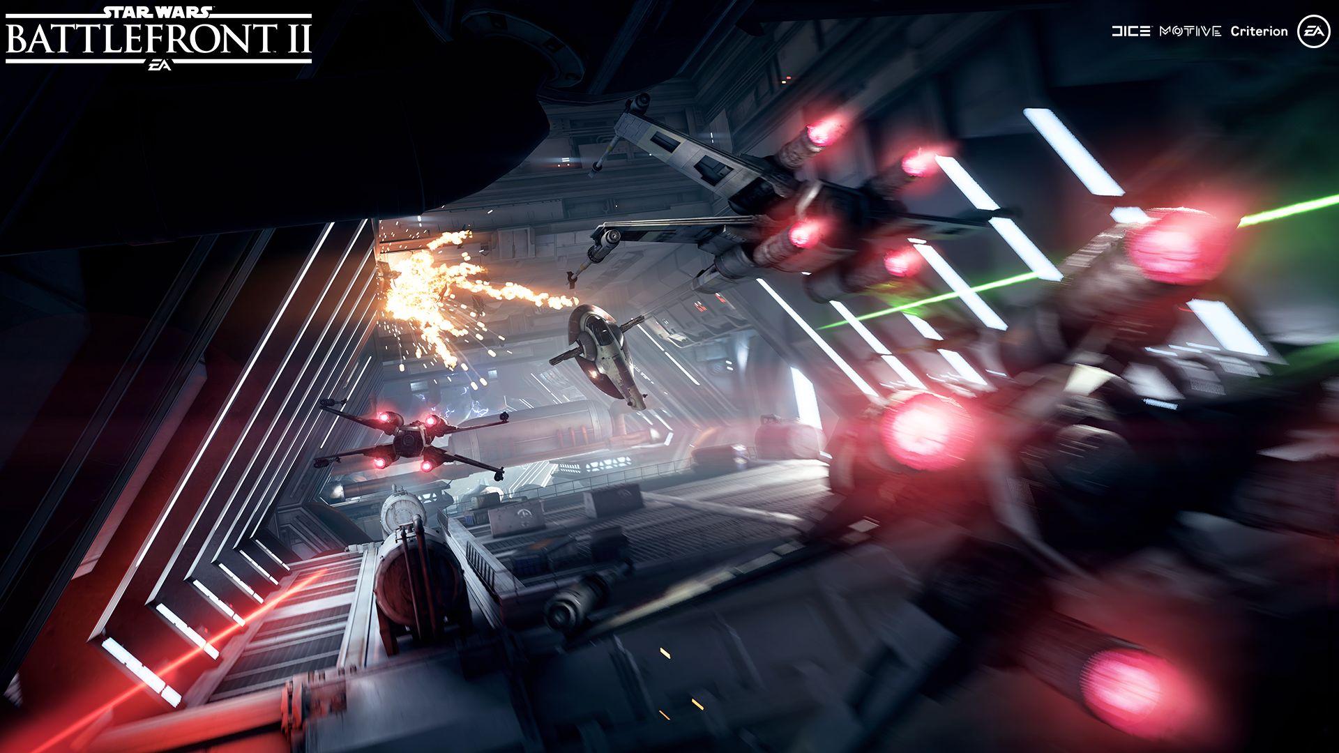 Vesmírné bitvy ve Star Wars: Battlefrontu 2 na nových screenshotech 148815