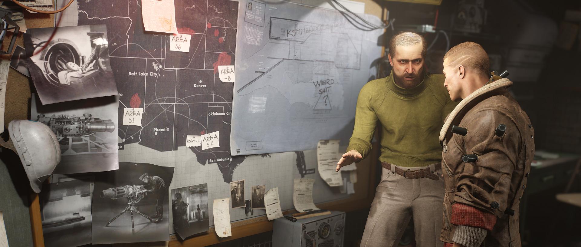 Ve Wolfenstein 2: The New Colossus se objeví známé i zcela nové postavy 148950