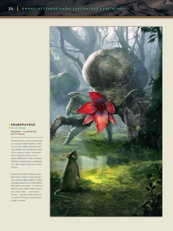 Gwent: Výtvarné umění zaklínačské karetní hry - karbanický artbook 149135