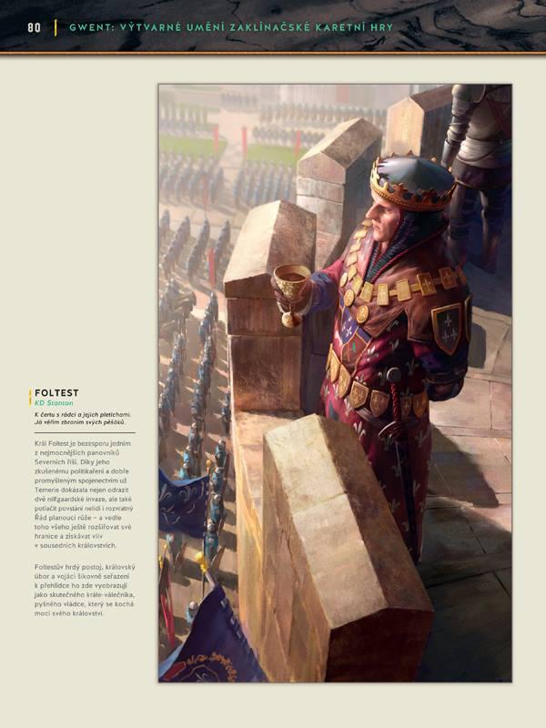 Gwent: Výtvarné umění zaklínačské karetní hry - karbanický artbook 149136