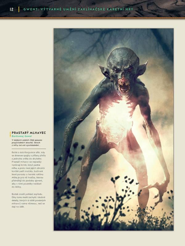 Gwent: Výtvarné umění zaklínačské karetní hry - karbanický artbook 149139