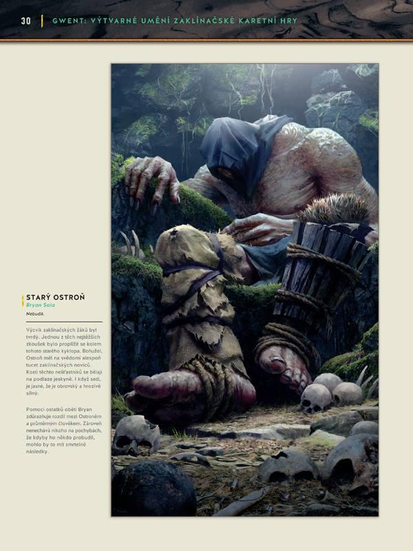 Gwent: Výtvarné umění zaklínačské karetní hry - karbanický artbook 149140