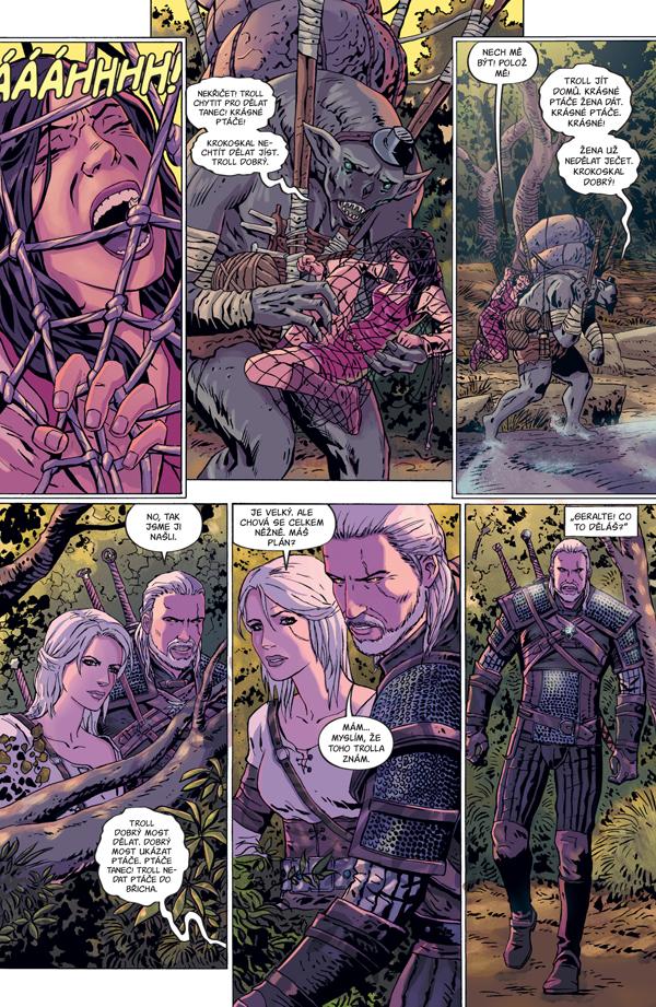 Zaklínač: Prokletí vran - Geralt a Ciri v komiksovém dobrodružství 149245