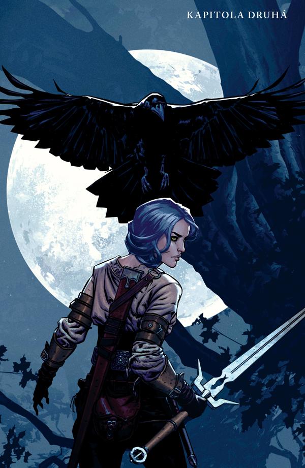 Zaklínač: Prokletí vran - Geralt a Ciri v komiksovém dobrodružství 149250