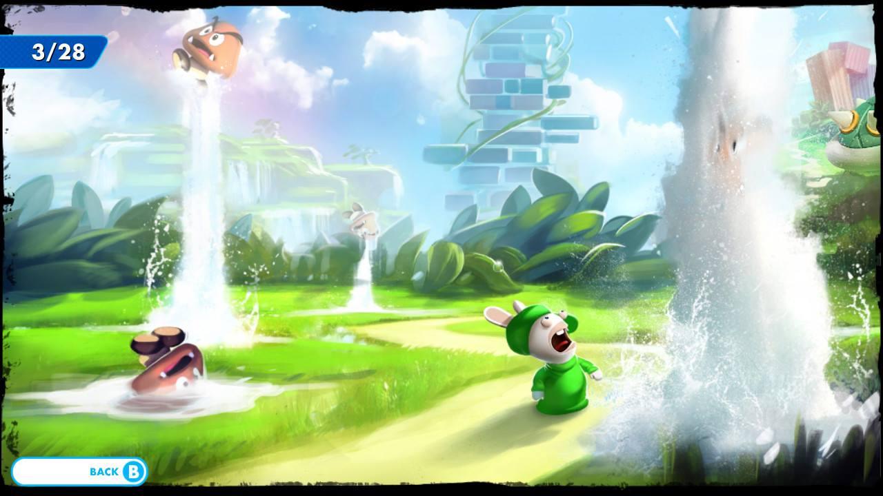 Mario + Rabbids Kingdom Battle - pěkně vykutálený, ušatý instalatér 149264
