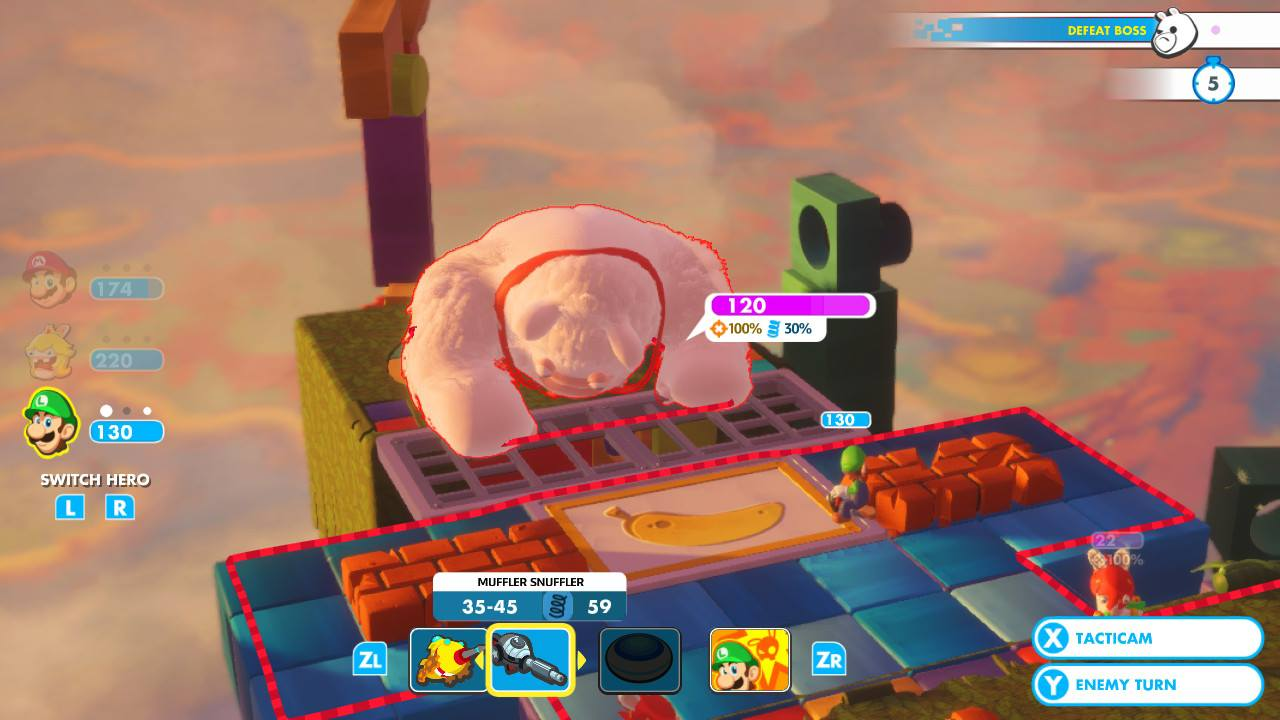 Mario + Rabbids Kingdom Battle - pěkně vykutálený, ušatý instalatér 149268