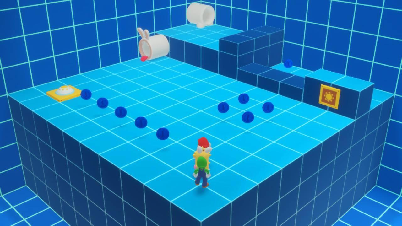 Mario + Rabbids Kingdom Battle - pěkně vykutálený, ušatý instalatér 149269