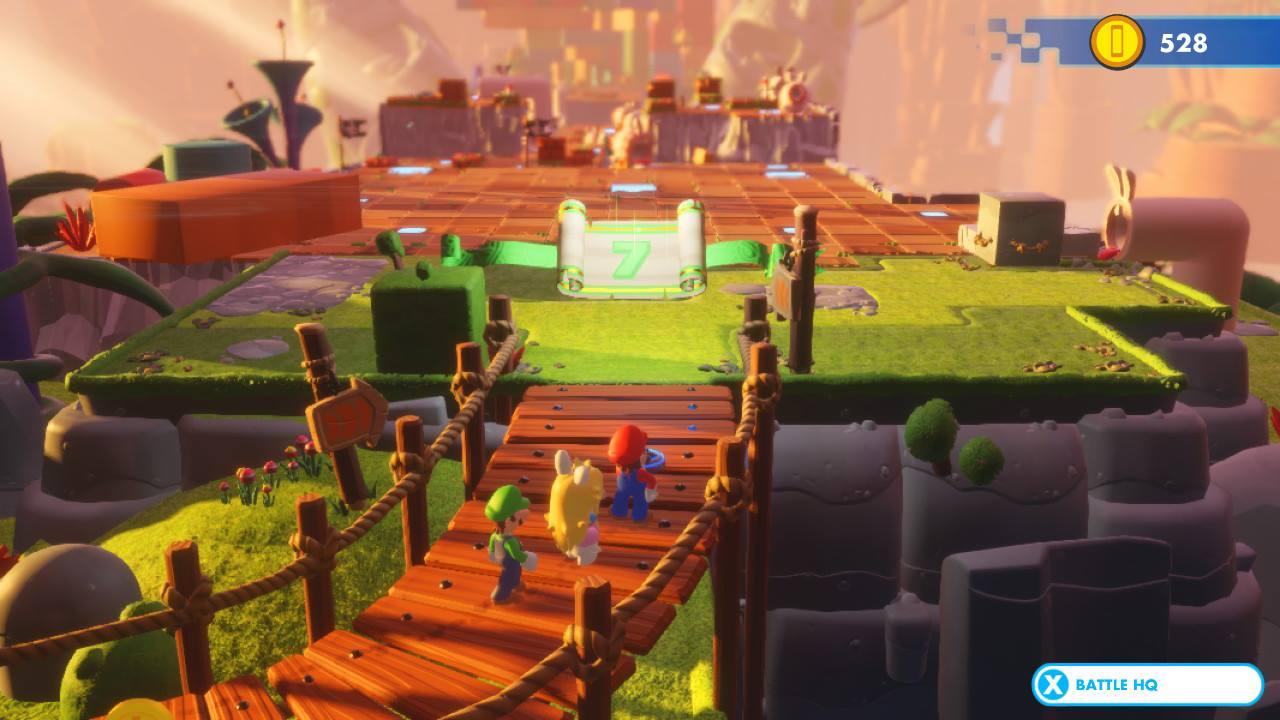 Mario + Rabbids Kingdom Battle - pěkně vykutálený, ušatý instalatér 149271