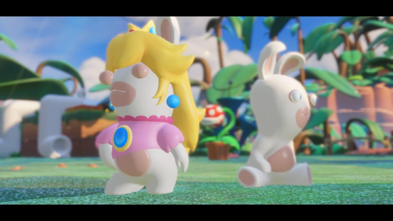 Mario + Rabbids Kingdom Battle - pěkně vykutálený, ušatý instalatér 149272