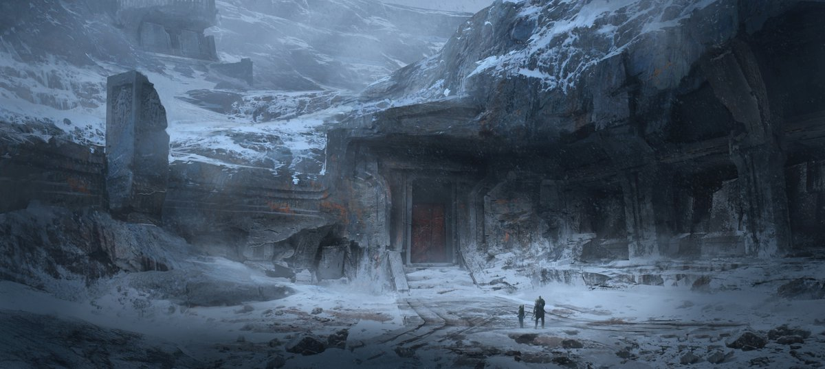 Mrazivé prostředí a nepřátelé z God of War 149296