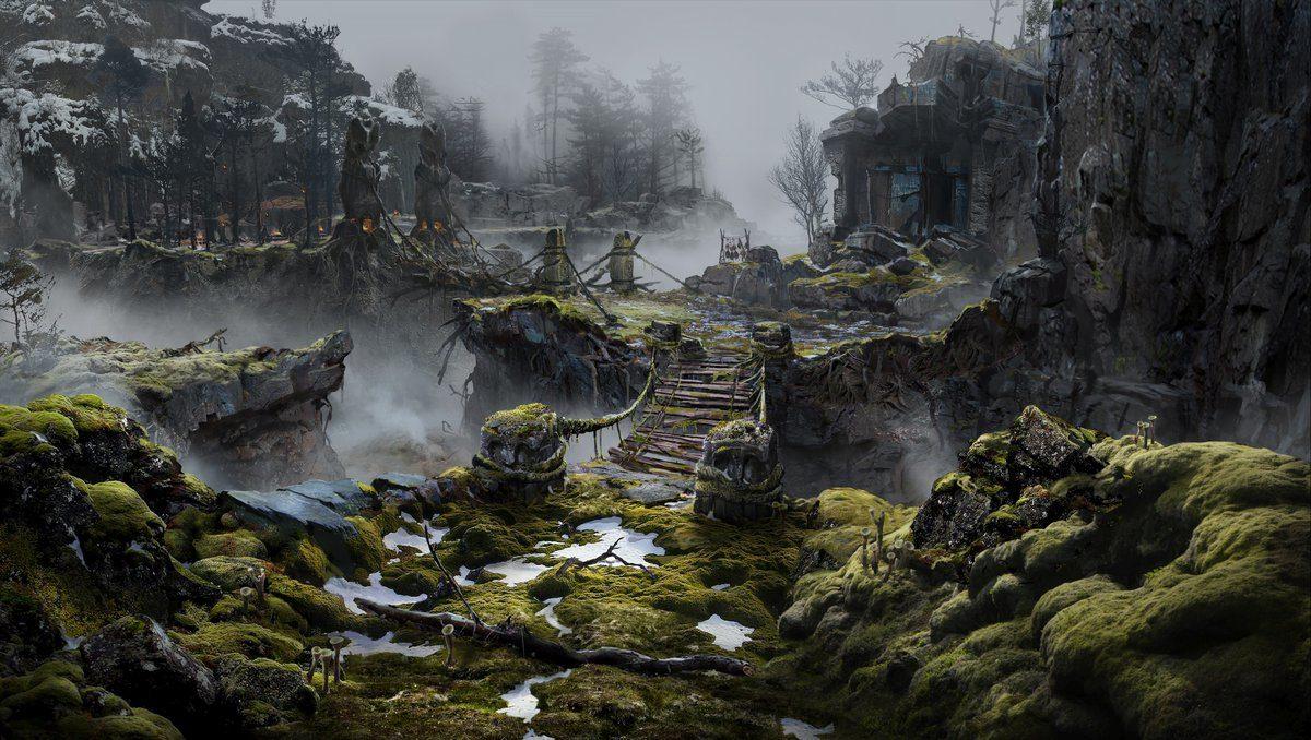 Mrazivé prostředí a nepřátelé z God of War 149300