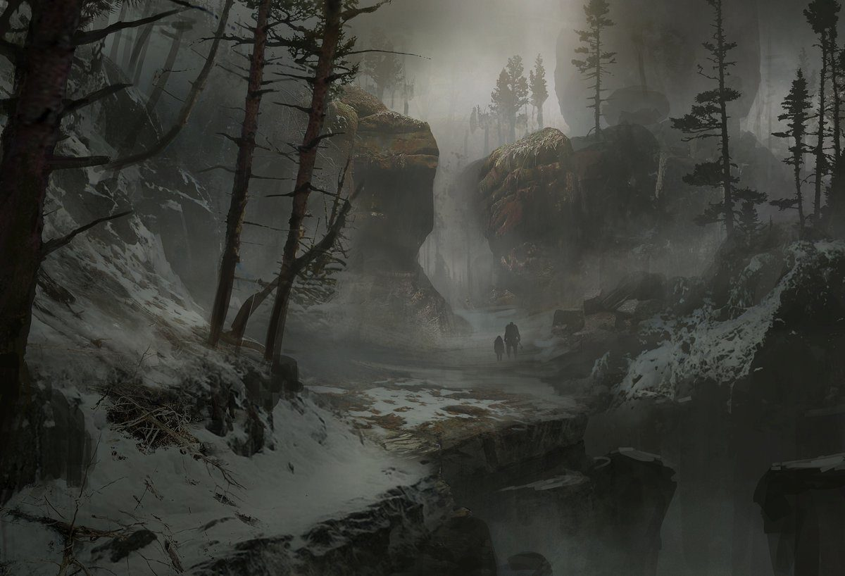 Mrazivé prostředí a nepřátelé z God of War 149302