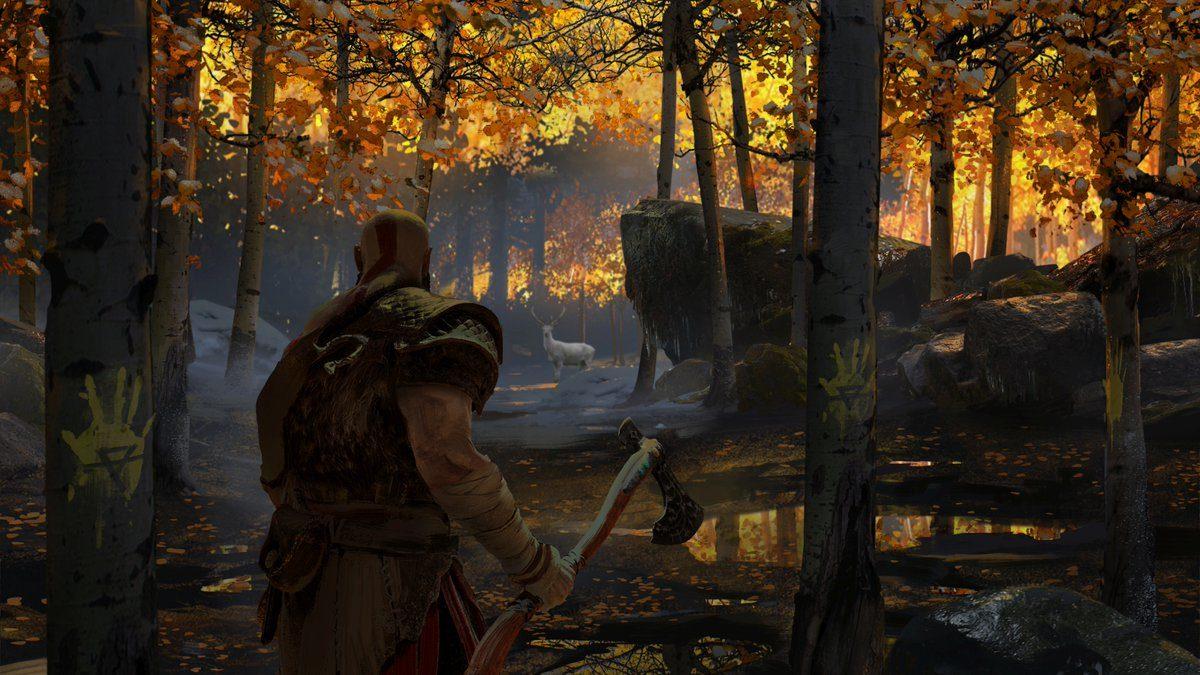 Mrazivé prostředí a nepřátelé z God of War 149303