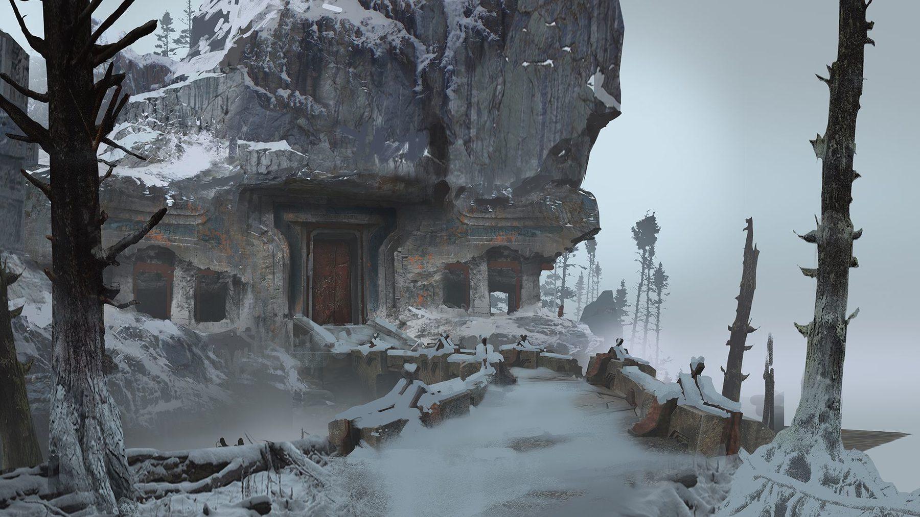Mrazivé prostředí a nepřátelé z God of War 149305