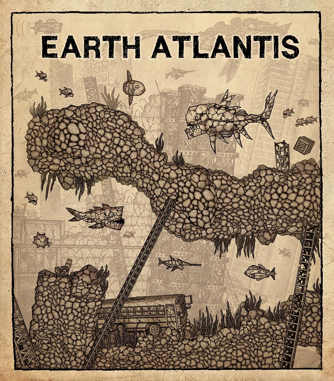 Earth Atlantis vyjde nejdříve na Switchi 149317