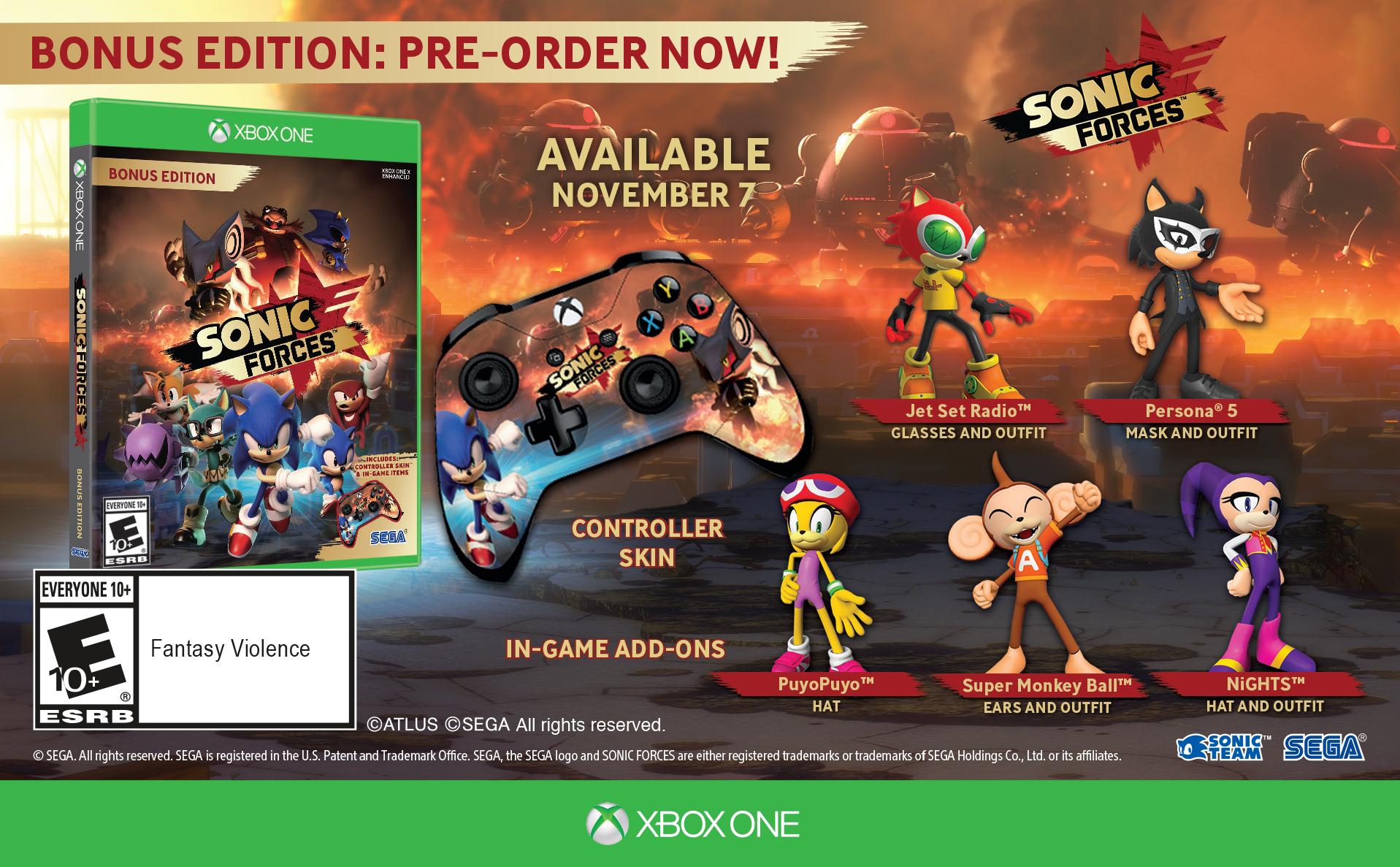 Sonic Forces můžete koupit v bonusové fyzické edici 149349