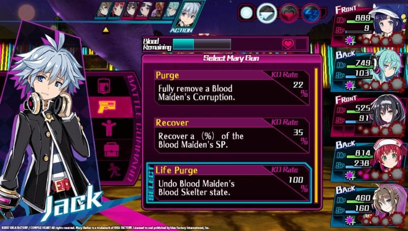 Blood Meter systém v Mary Skelter: Nightmares 149387