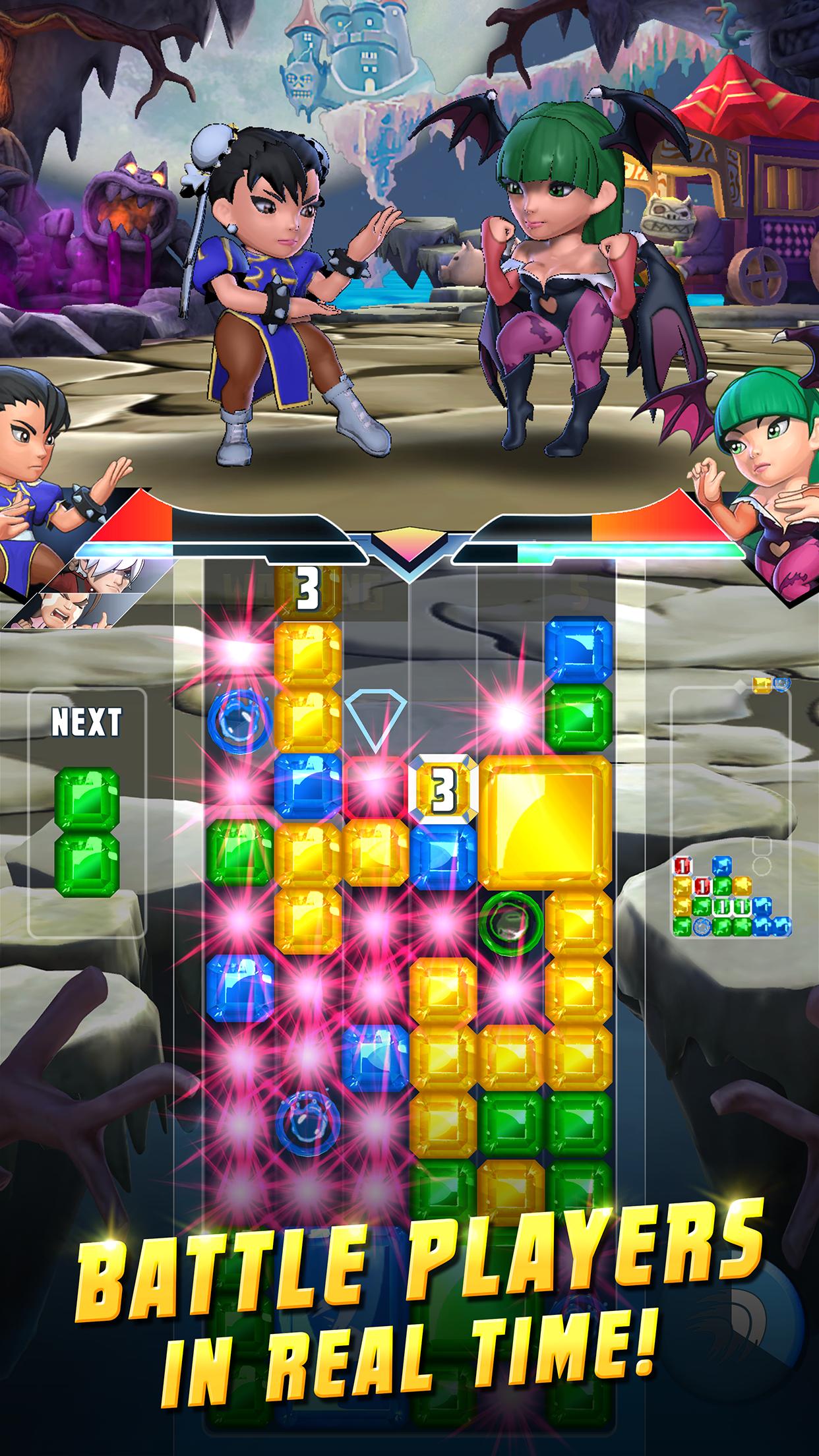 Capcom na mobily chystá puzzle hru s oblíbenými hrdiny 149402