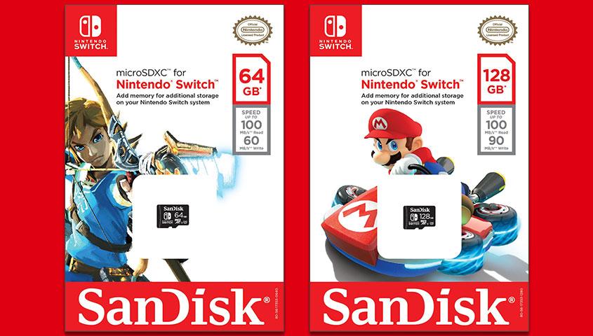 Oznámeny licencované paměťové karty pro Switch 149485