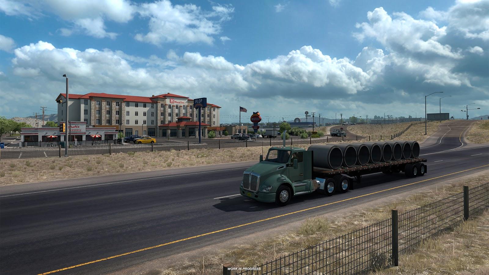 American Truck Simulator a památky Nového Mexika 149493