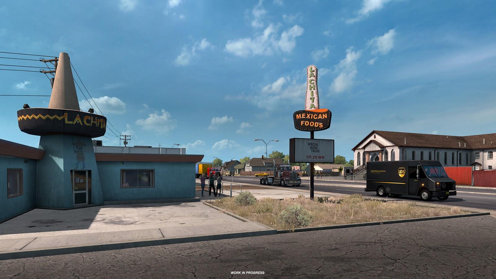 American Truck Simulator a památky Nového Mexika 149494