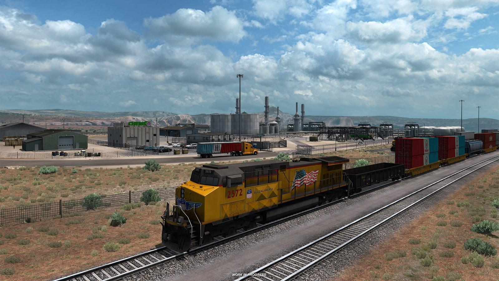 American Truck Simulator a památky Nového Mexika 149497