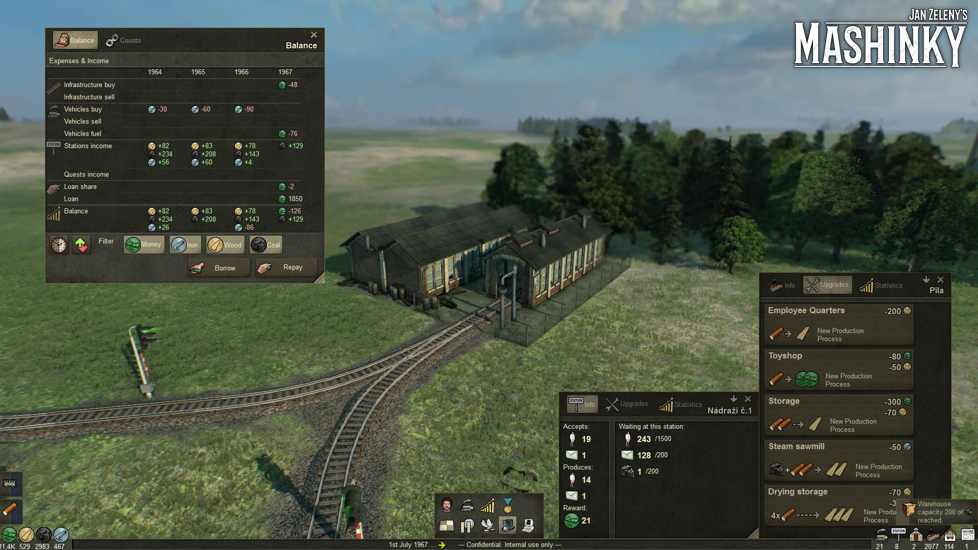 České Mashinky dorazí na Steam 6. října 149593