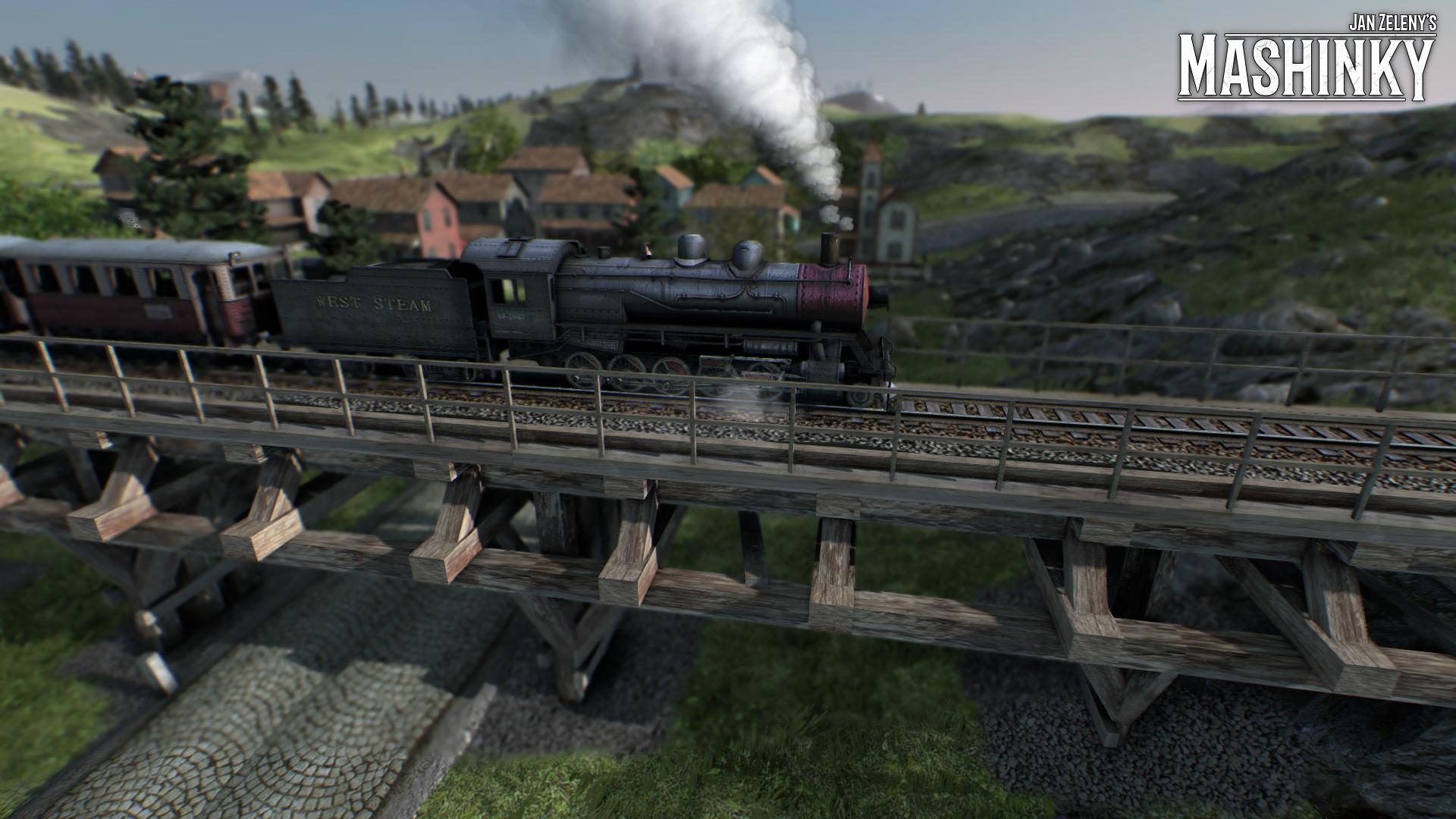 České Mashinky dorazí na Steam 6. října 149595