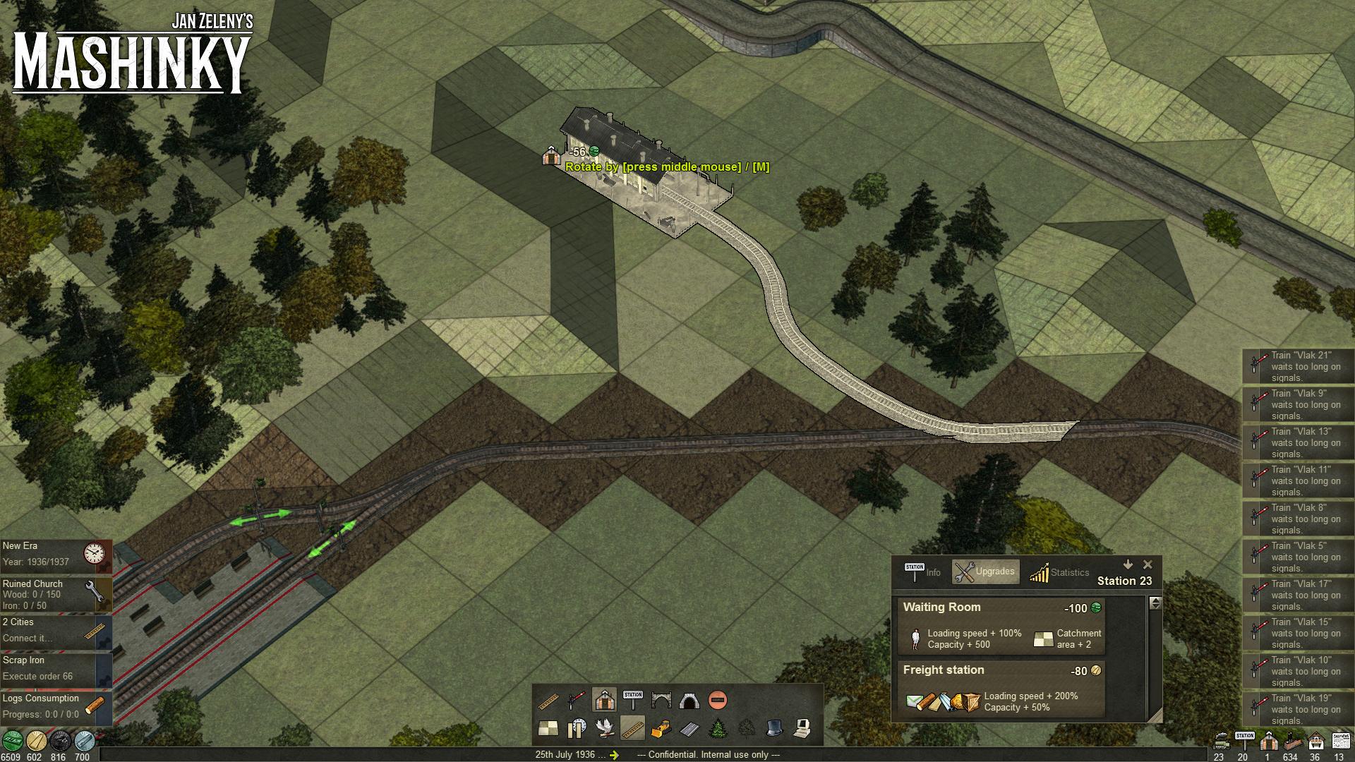 České Mashinky dorazí na Steam 6. října 149601