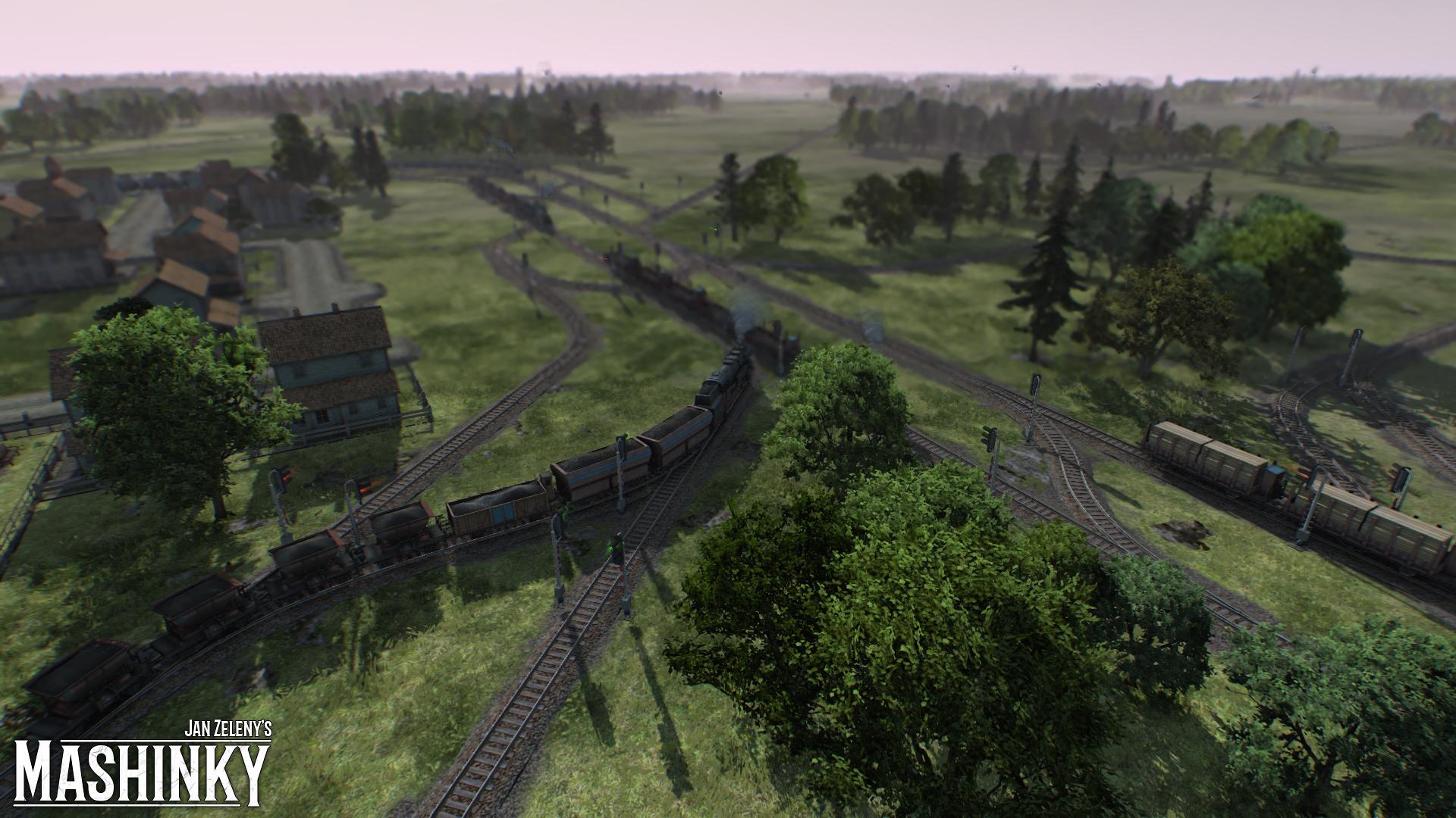 České Mashinky dorazí na Steam 6. října 149603