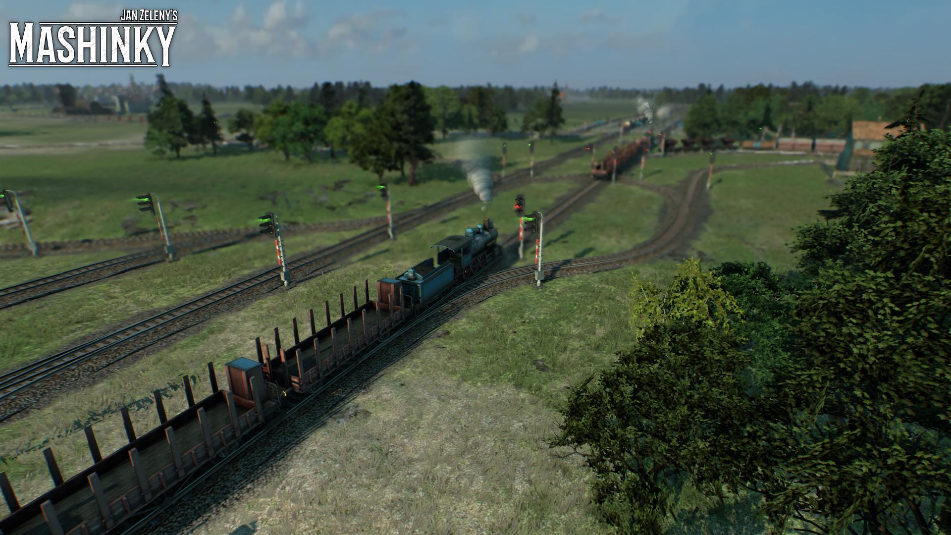 České Mashinky dorazí na Steam 6. října 149604