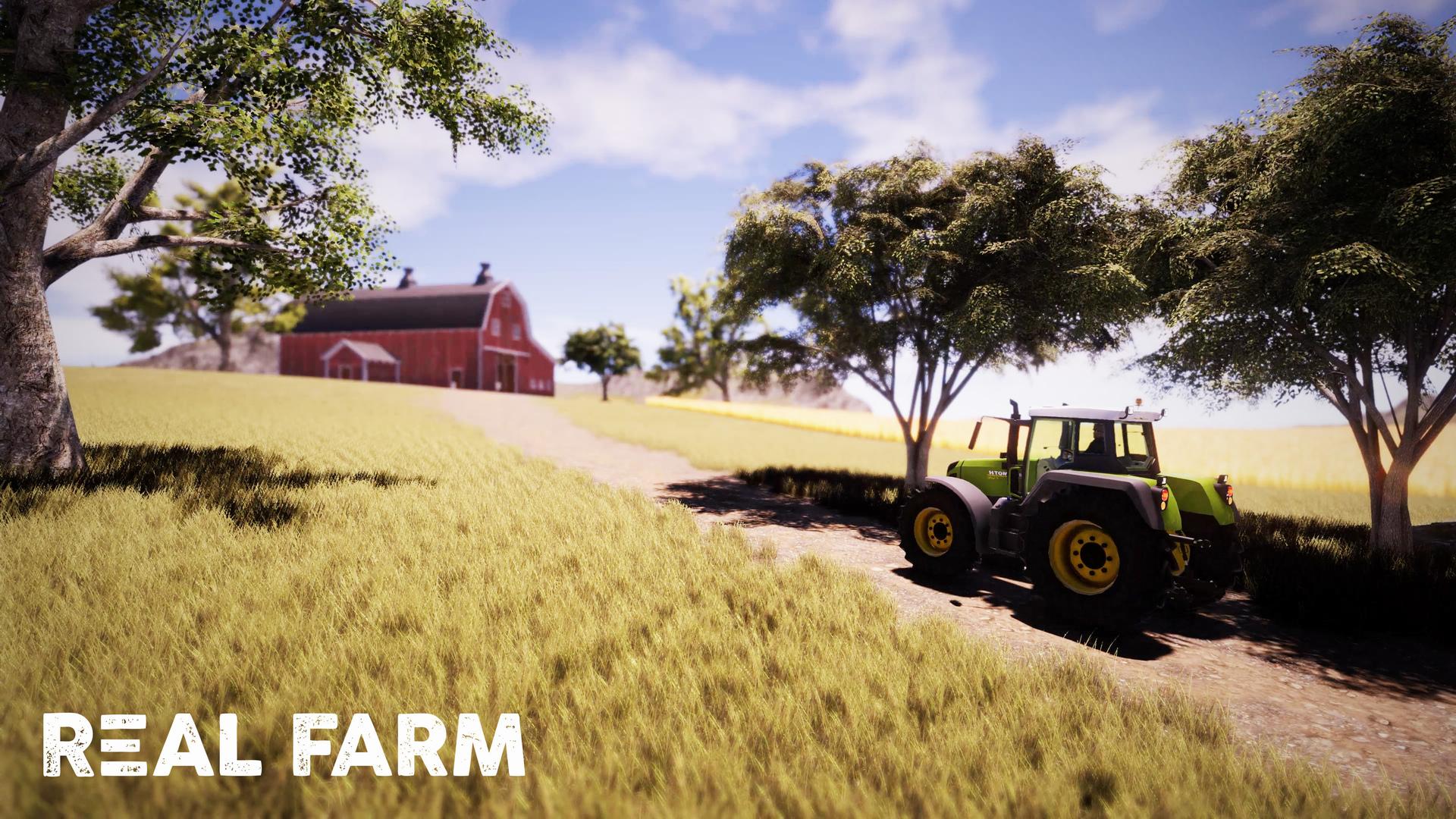 Výzva na venkově v Real Farm 149640