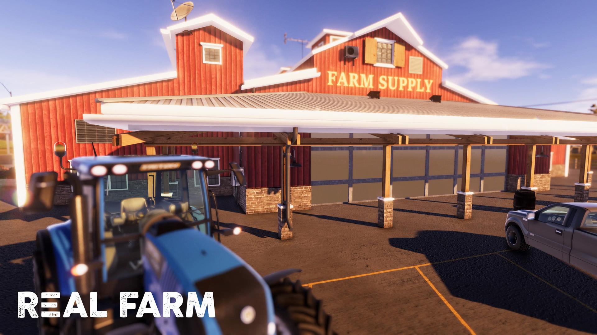 Výzva na venkově v Real Farm 149641