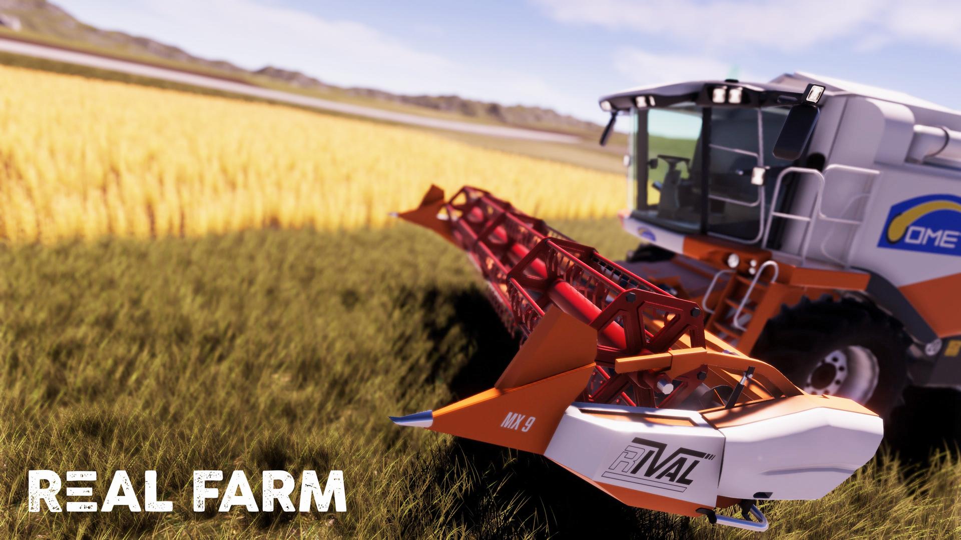 Výzva na venkově v Real Farm 149642