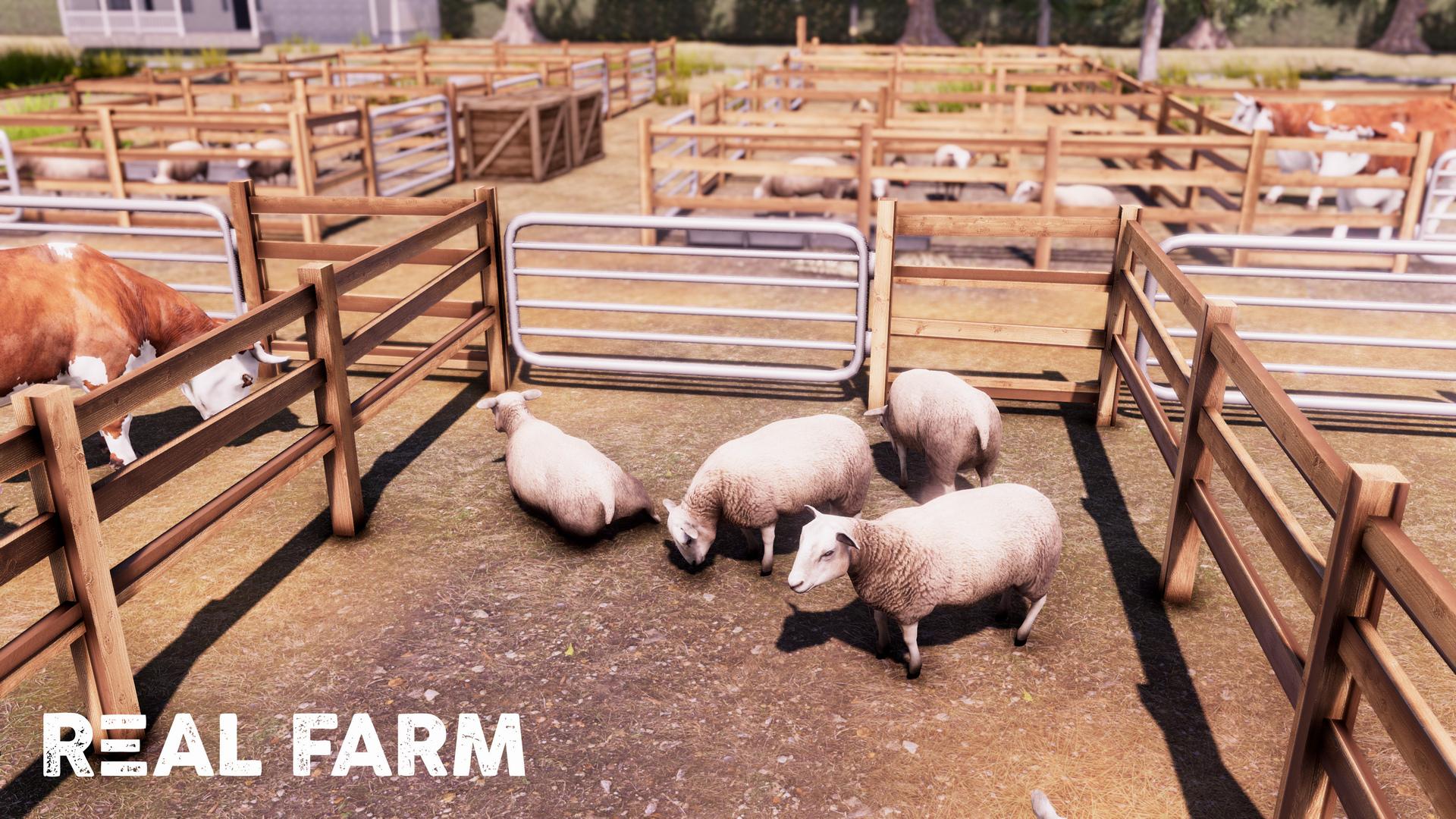 Výzva na venkově v Real Farm 149645