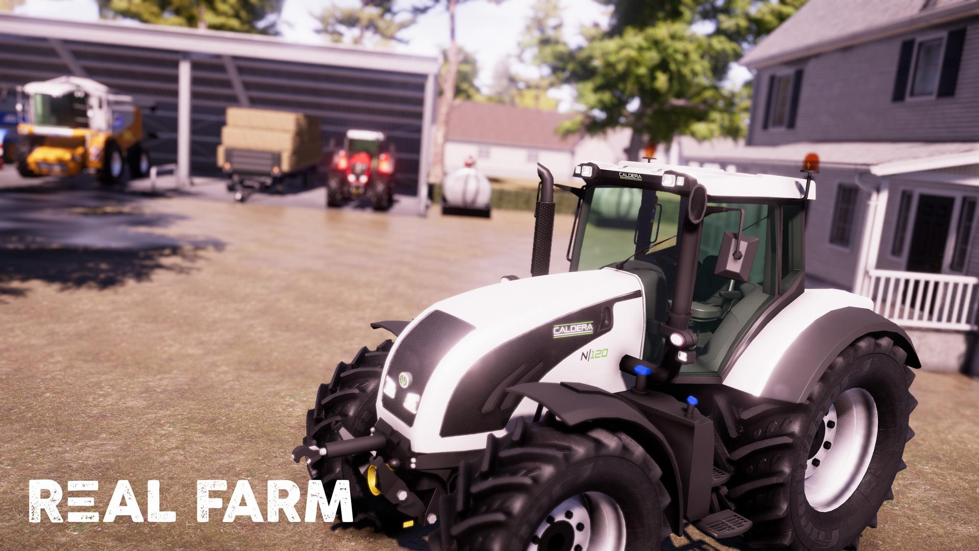 Výzva na venkově v Real Farm 149647