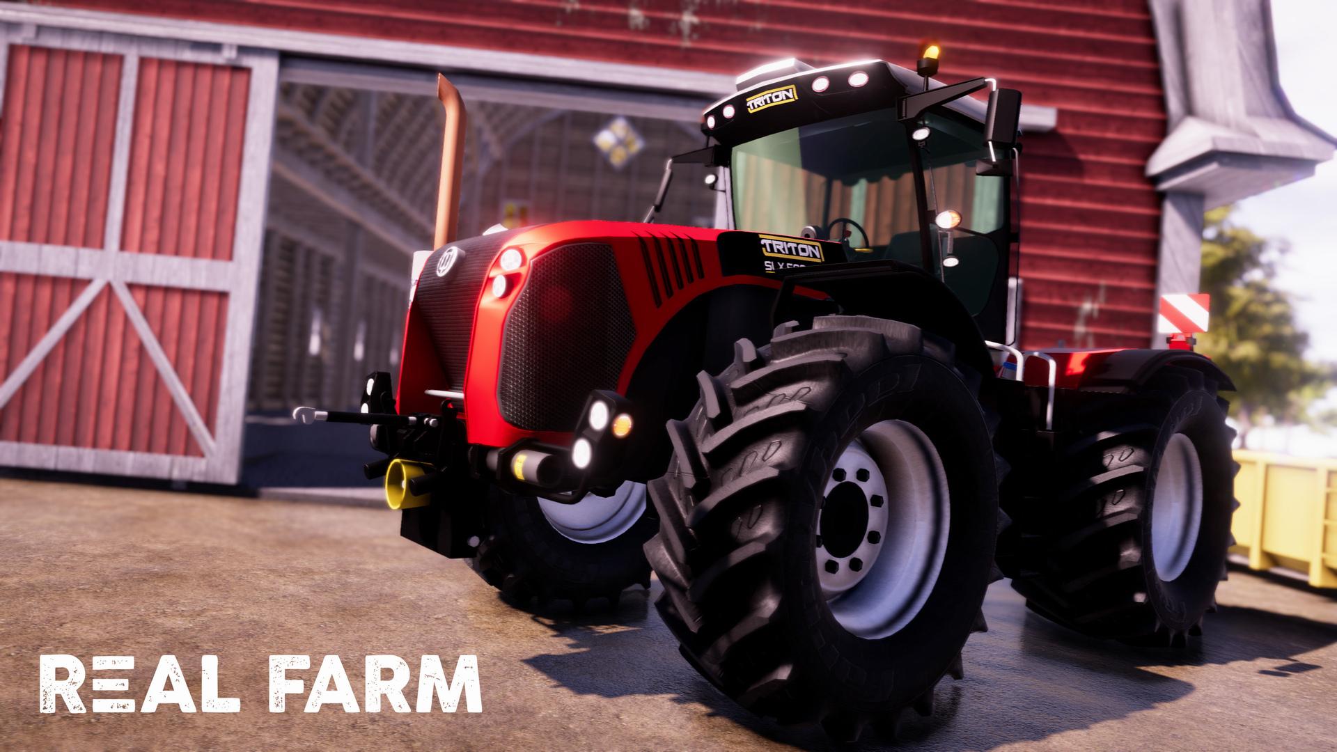 Výzva na venkově v Real Farm 149648