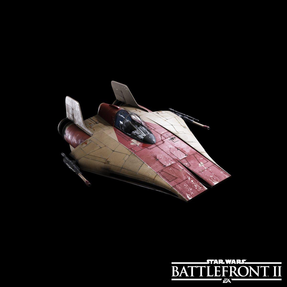 Ukázka některých lodí a stíhaček ze Star Wars: Battlefrontu 2 149706