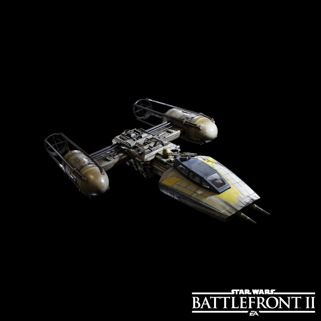 Ukázka některých lodí a stíhaček ze Star Wars: Battlefrontu 2 149708