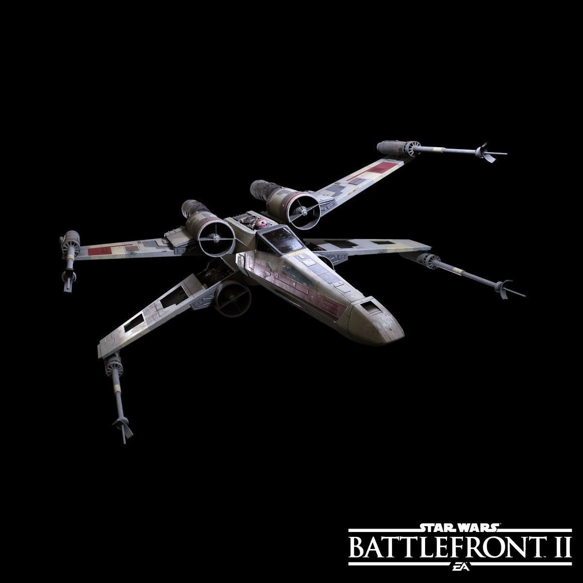 Ukázka některých lodí a stíhaček ze Star Wars: Battlefrontu 2 149710