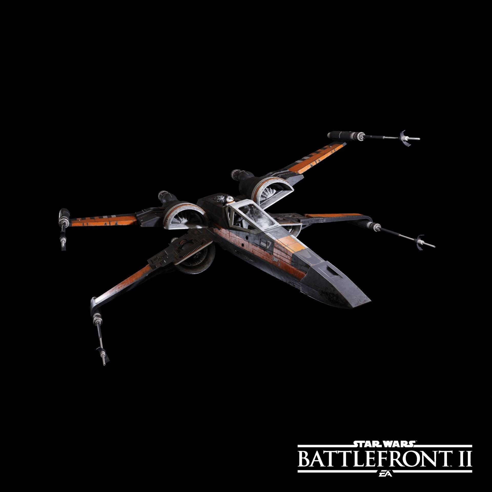 Ukázka některých lodí a stíhaček ze Star Wars: Battlefrontu 2 149712