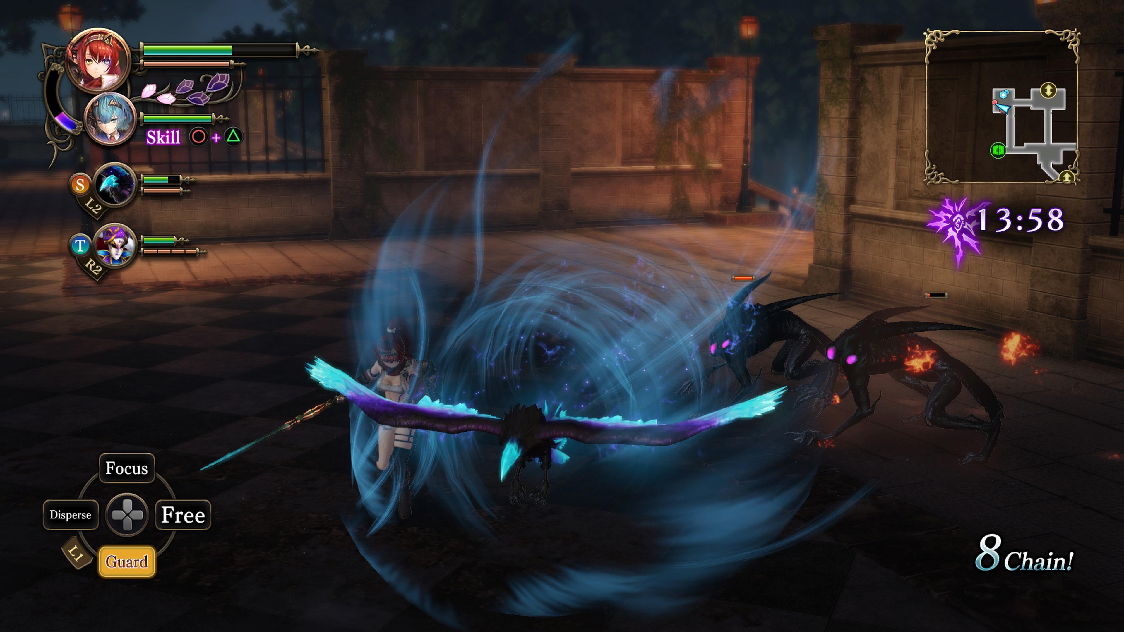 Detaily bojového sytému Nights of Azure 2 a bonusy po vydání 149817