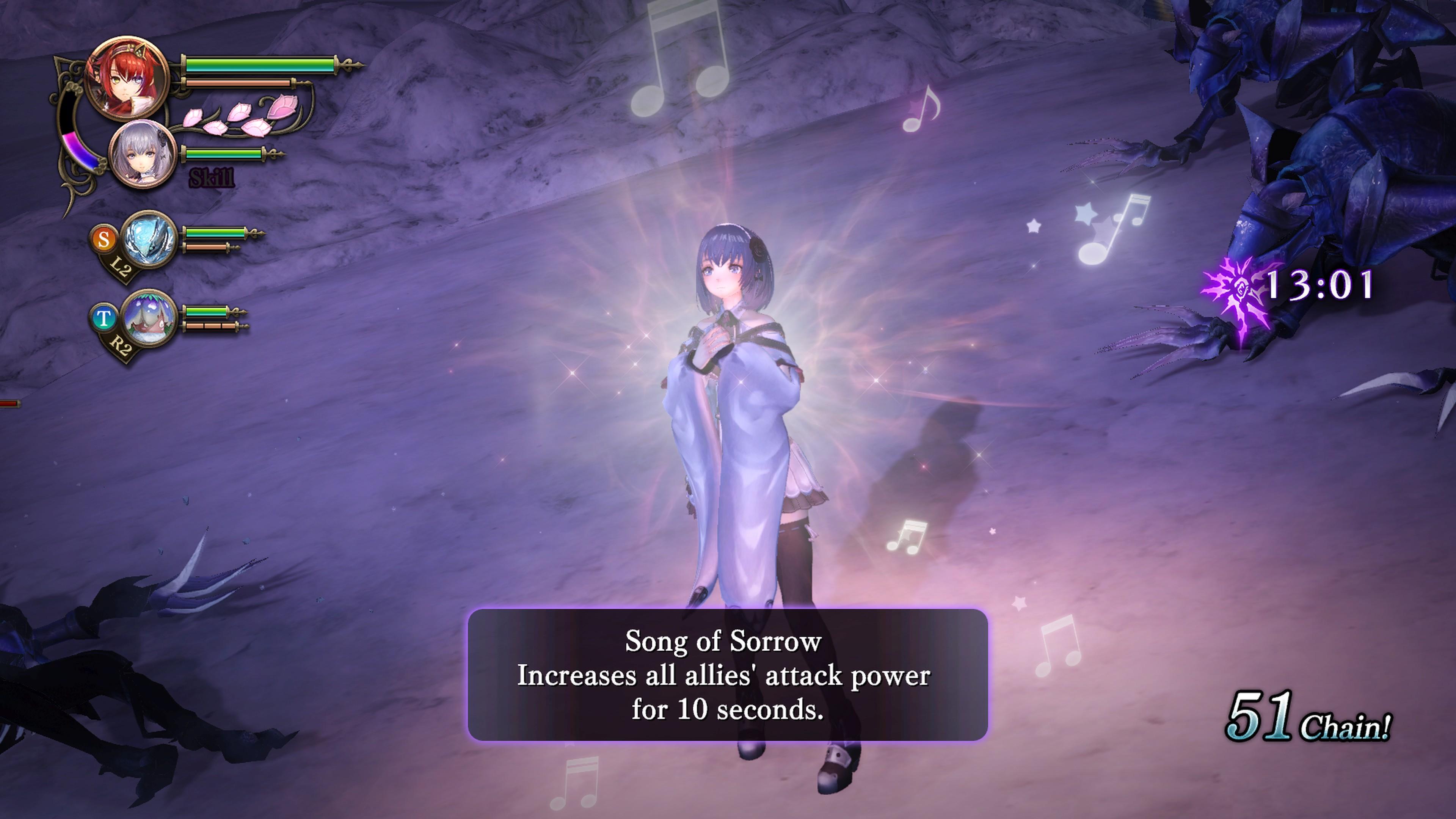 Detaily bojového sytému Nights of Azure 2 a bonusy po vydání 149818