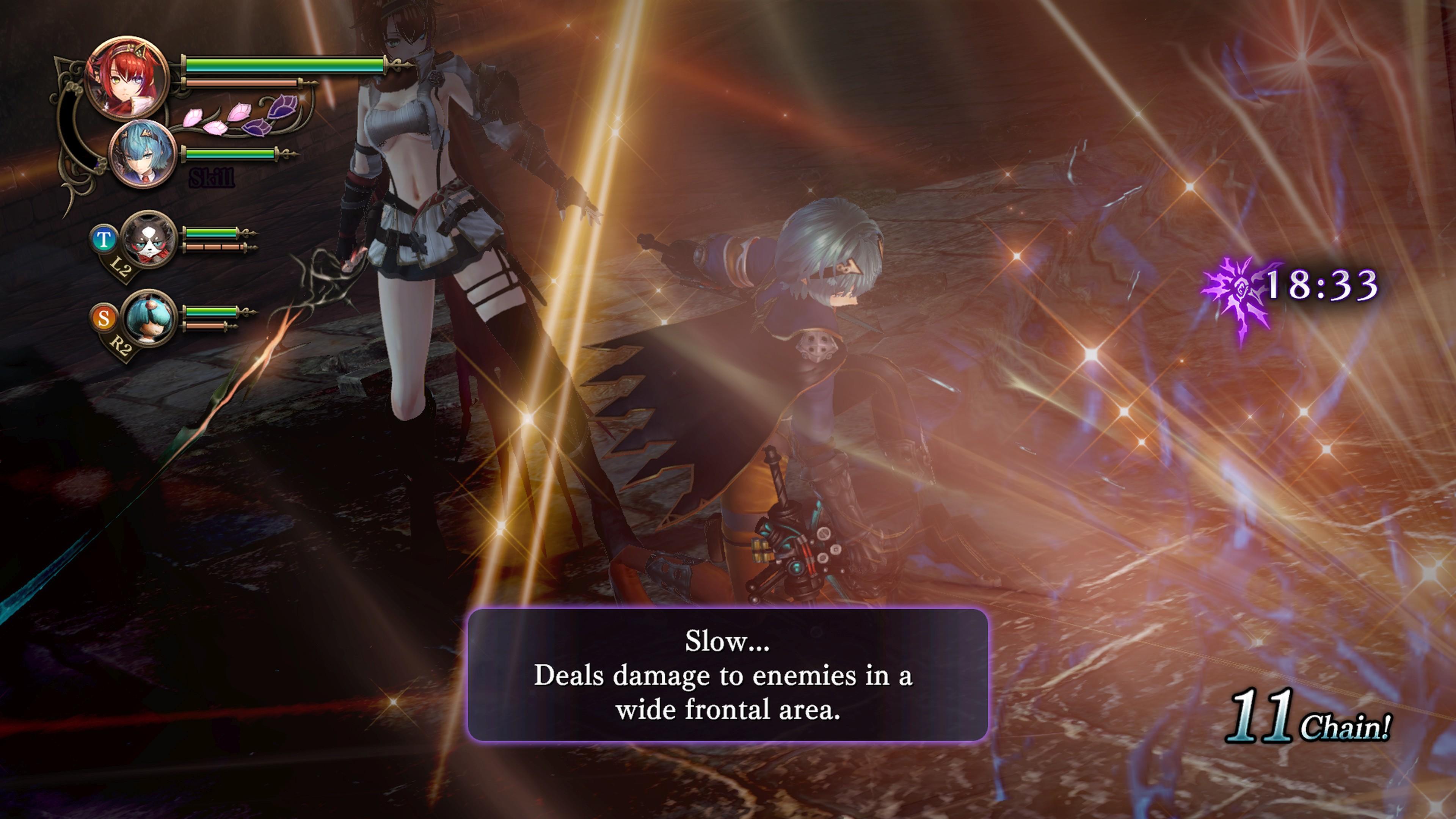 Detaily bojového sytému Nights of Azure 2 a bonusy po vydání 149821
