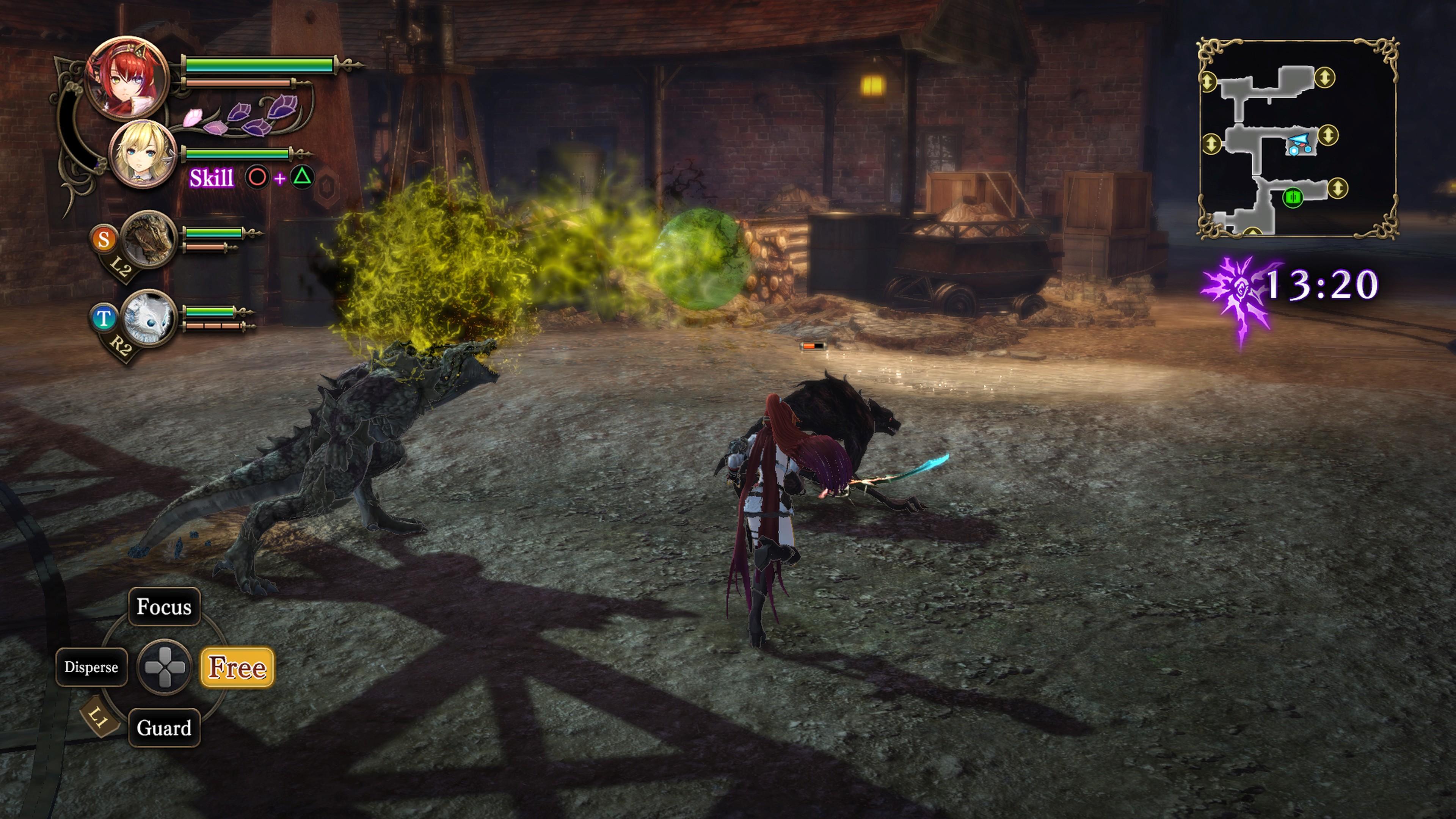Detaily bojového sytému Nights of Azure 2 a bonusy po vydání 149822