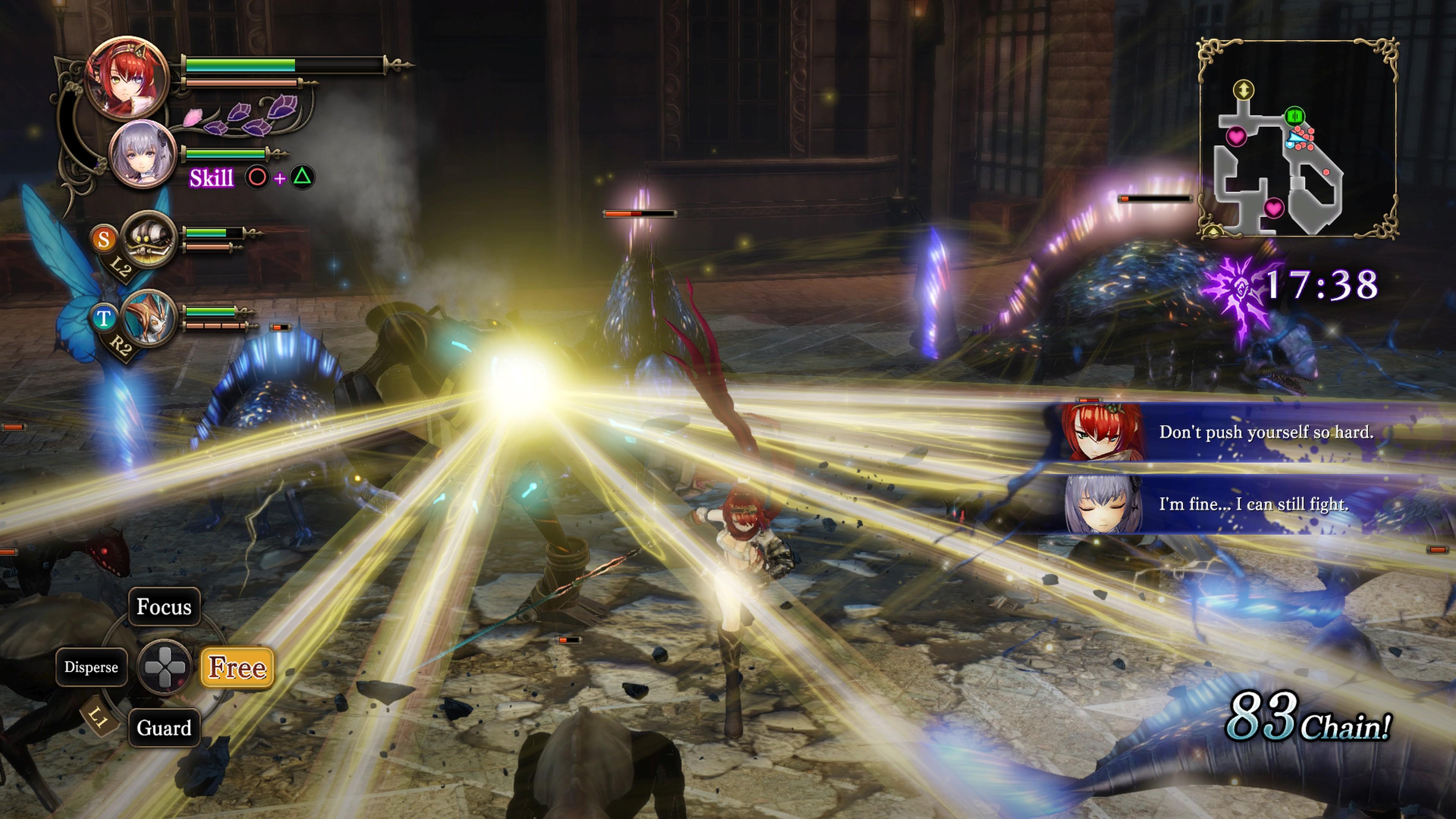 Detaily bojového sytému Nights of Azure 2 a bonusy po vydání 149828